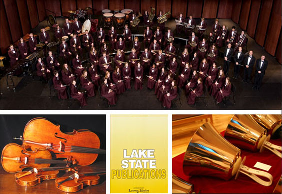 Lake State Publications is a publisher of fine printed music